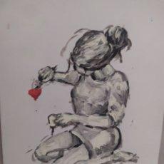 Arte: ENAMORADA (ORIGINAL). Lote 234514005