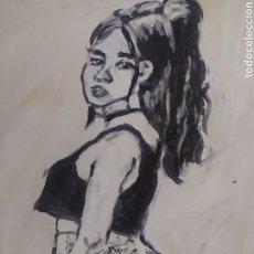 Arte: CHICA ANIMACION (ORIGINAL). Lote 234518220
