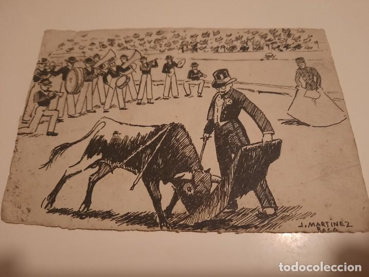 J.MARTINEZ ROCA.LAMIMA PINTADA EN BLANCO Y NEGRO (Arte - Dibujos - Antiguos hasta el siglo XVIII)