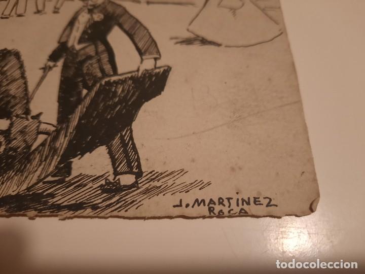Arte: J.Martinez Roca.Lamima pintada en blanco y negro - Foto 2 - 234768945