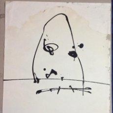 Arte: ANTONIO SAURA ,OBRA ORIGINAL CARTEL EXPOSICIÓN CENTRO DE ARTE M 11 ,AÑO 1973 -MEDIDAS 72X50 CM. Lote 234938465
