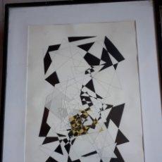 Arte: DIBUJO SOBRE PAPEL FIRMADO POR M. MAESTRE.. Lote 235347695