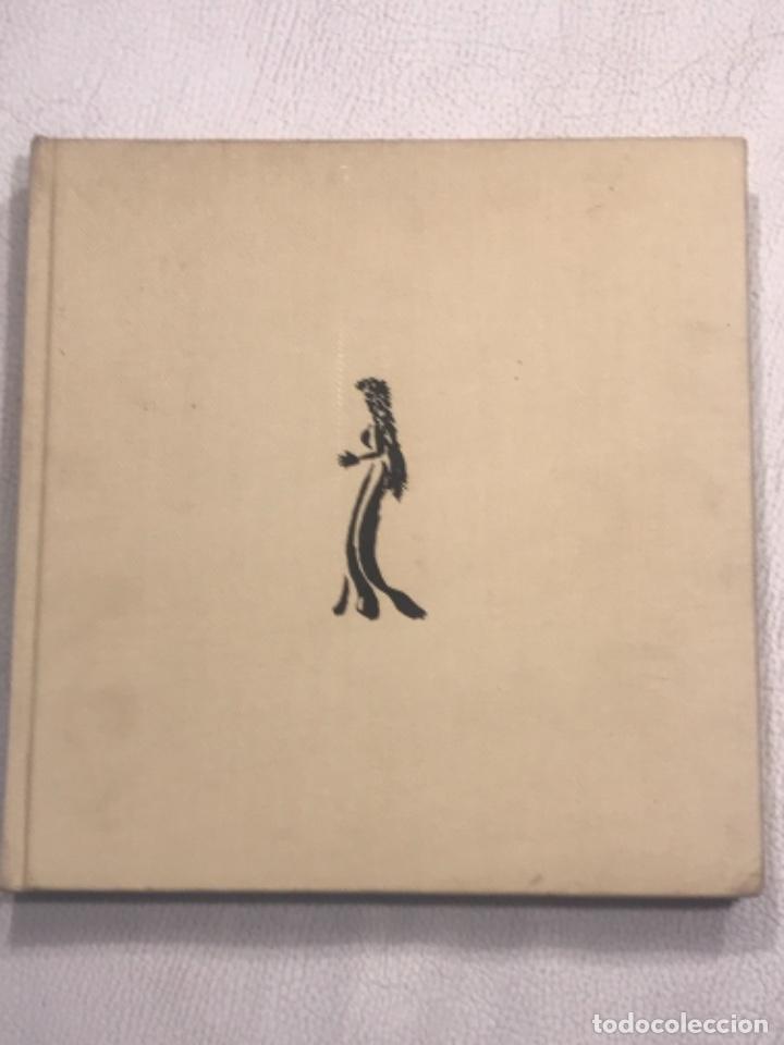 Arte: DIBUJO A TINTA DE APEL.LES FENOSA SOBRE LIBRO LA POLIGRAFA Su vida, su arte. VENDRELL 24-7-84. - Foto 4 - 236090535