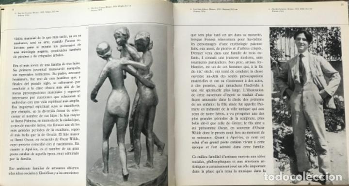 Arte: DIBUJO A TINTA DE APEL.LES FENOSA SOBRE LIBRO LA POLIGRAFA Su vida, su arte. VENDRELL 24-7-84. - Foto 6 - 236090535
