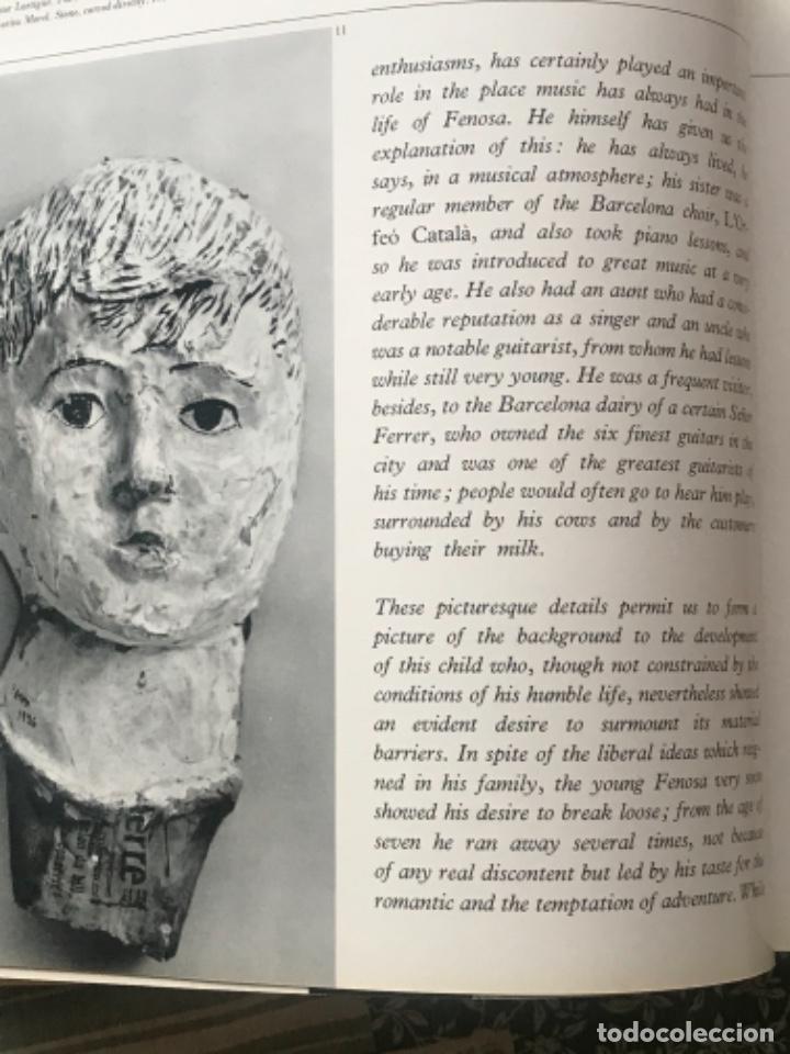 Arte: DIBUJO A TINTA DE APEL.LES FENOSA SOBRE LIBRO LA POLIGRAFA Su vida, su arte. VENDRELL 24-7-84. - Foto 9 - 236090535