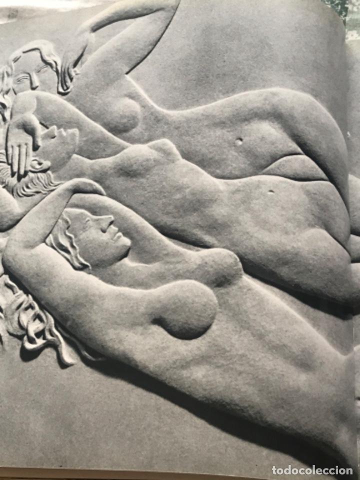 Arte: DIBUJO A TINTA DE APEL.LES FENOSA SOBRE LIBRO LA POLIGRAFA Su vida, su arte. VENDRELL 24-7-84. - Foto 10 - 236090535