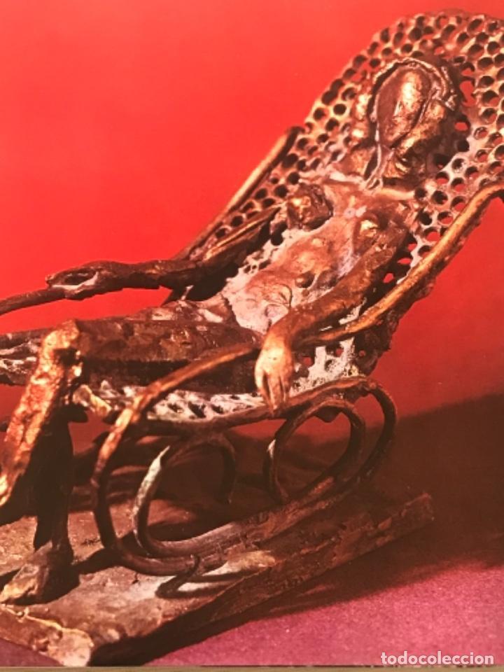Arte: DIBUJO A TINTA DE APEL.LES FENOSA SOBRE LIBRO LA POLIGRAFA Su vida, su arte. VENDRELL 24-7-84. - Foto 13 - 236090535