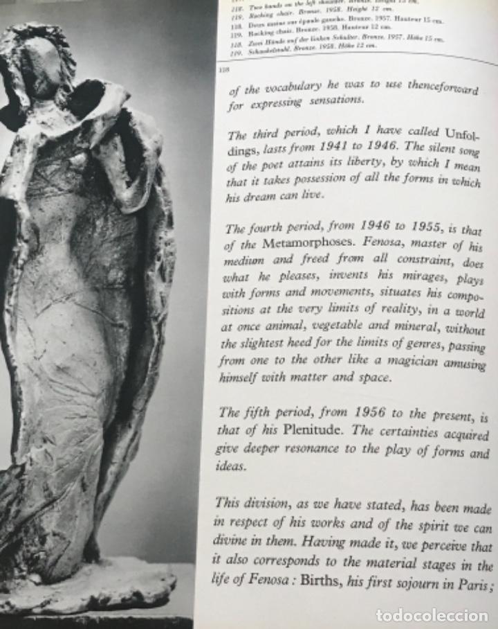 Arte: DIBUJO A TINTA DE APEL.LES FENOSA SOBRE LIBRO LA POLIGRAFA Su vida, su arte. VENDRELL 24-7-84. - Foto 14 - 236090535
