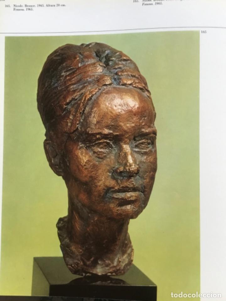 Arte: DIBUJO A TINTA DE APEL.LES FENOSA SOBRE LIBRO LA POLIGRAFA Su vida, su arte. VENDRELL 24-7-84. - Foto 17 - 236090535