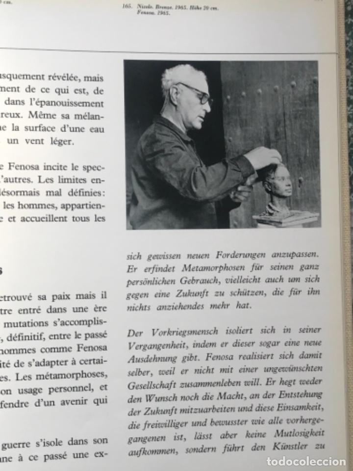 Arte: DIBUJO A TINTA DE APEL.LES FENOSA SOBRE LIBRO LA POLIGRAFA Su vida, su arte. VENDRELL 24-7-84. - Foto 18 - 236090535