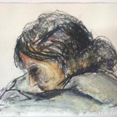 Arte: RETRATO FEMENINO A CERA RODOLFO TUR 1960'S.. Lote 236693830
