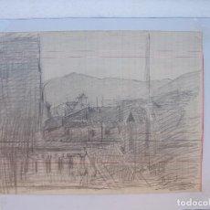 Arte: BONITO DIBUJO DE J. PUIG ( BARCELONA ). Lote 236956860