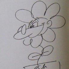 Arte: MORTADELO Y FILEMON. DIBUJO ORIGINAL Y DEDICATORIA FRANCISCO IBAÑÉZ. SUPER HUMOR 30. 1998. 1ª EDIC.. Lote 238440400