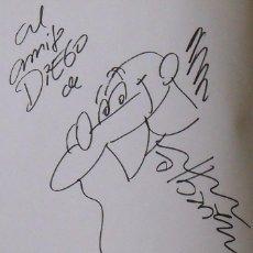 Arte: MORTADELO Y FILEMON. DIBUJO ORIGINAL Y DEDICATORIA FRANCISCO IBAÑÉZ. SUPER HUMOR 31. 2000. 2ª EDIC.. Lote 238441980