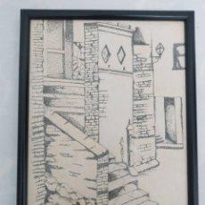 Arte: CUADRO FIRMADO 1987 DESCONOZCO ARTISTA. Lote 239925985