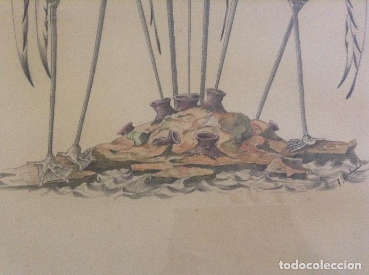 "Arte: ""Los politicos"" Dibujo original V Holgado o Halgado - Foto 2 - 240022085"