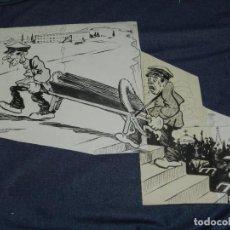 Arte: DIBUJO A PLUMA ORIGINAL DE PICAROL PUBLICADO L'ESQUELLA DE LA TORRATXA Nº 1446 - 14 SEPT. 1906. Lote 242295590