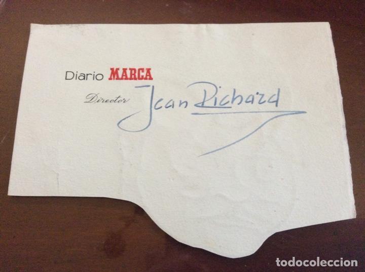 Arte: CARICATURA DE JEAN RICHARD ACTOR 1921-2001 sin firmar - Foto 2 - 243843625