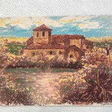 Arte: DIBUJO A TINTA FIRMADO DESCONOCEMOS AUTOR. 1979'S.. Lote 244653465
