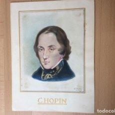 Arte: DIBUJO A LÁPIZ DE COLOR. 15X18CM.. Lote 244836000