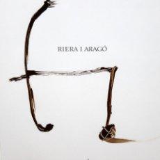 Arte: JOSEP Mª RIERA I ARAGÓ (BARCELONA, 1954) OLEO SOBRE PAPEL. Lote 245358095