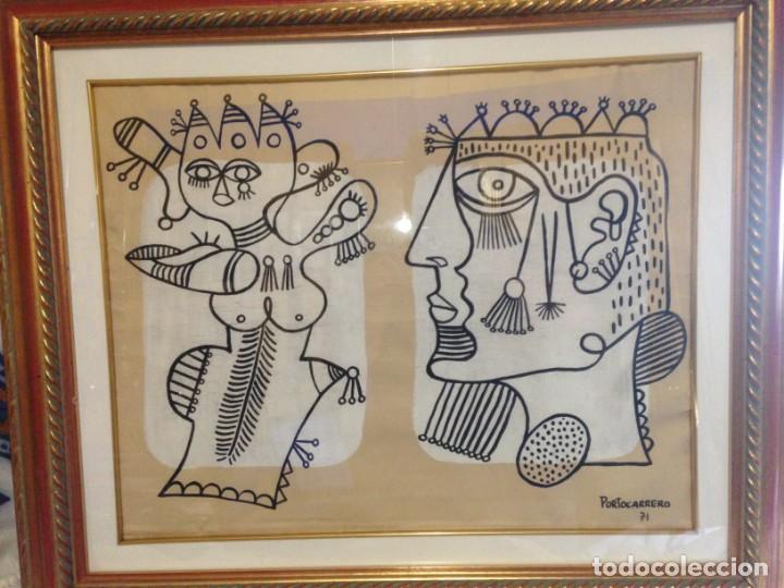 FIRMADO PORTOCARRERO (Arte - Dibujos - Contemporáneos siglo XX)