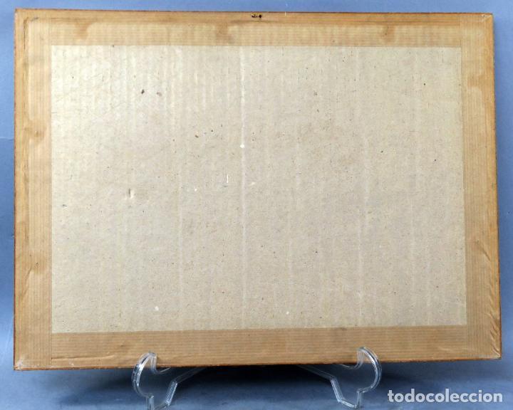 Arte: Derribo del picador dibujo a plumilla sobre papel Antonio Casero Sanz firmada años 60 - Foto 5 - 245548625