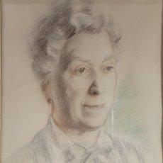 Arte: RETRATO POR PEDRO BATALLA XATRUCH (TARRAGONA 1893-1968). Lote 245569090