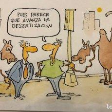 Arte: ORIGINAL DE TOM, TINTA Y A COLOR CÓMIC. Lote 246098740