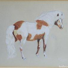 Arte: CABALLO POR BORRÁS APROX 1970. Lote 246455000