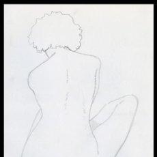 Arte: CELEDONIO PERELLÓN. DIBUJO ORIGINAL CON GRAFITO SOBRE PAPEL. FIRMADO. Lote 246673630