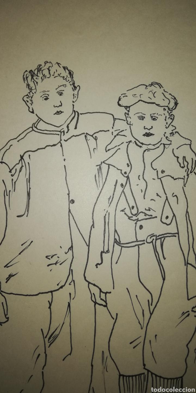 Arte: Dibujo b. Palencia - Foto 3 - 246790735