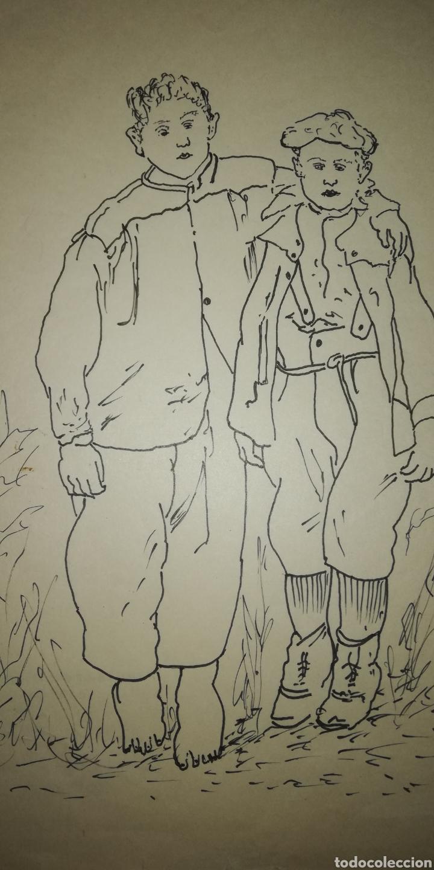 Arte: Dibujo b. Palencia - Foto 4 - 246790735