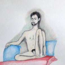 Art: MODELO OBRA DE GILABERTE. Lote 247417560