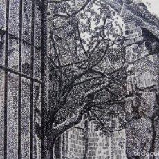 Arte: DIBUJO A PLUMILLA FIRMADO J. BLANES. GRAN CALIDAD Y DETALLE.. Lote 247613110