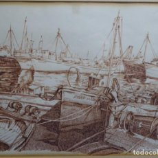 Arte: DIBUJO FIRMADO J. BLANES 77. GRAN CALIDAD Y DETALLE.. Lote 247614415