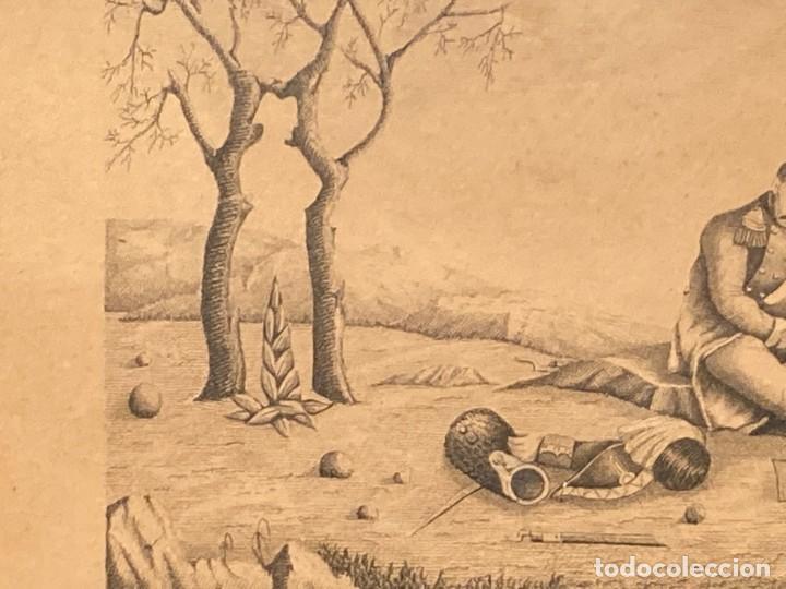Arte: Aprest d`Waterloo. Al Escmo Sor Don José Mª Vasallo. Capitán Gral de Galicia, por José Portal 1857 - Foto 3 - 248491390