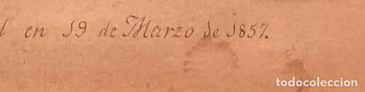Arte: Aprest d`Waterloo. Al Escmo Sor Don José Mª Vasallo. Capitán Gral de Galicia, por José Portal 1857 - Foto 6 - 248491390