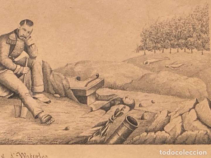 Arte: Aprest d`Waterloo. Al Escmo Sor Don José Mª Vasallo. Capitán Gral de Galicia, por José Portal 1857 - Foto 7 - 248491390