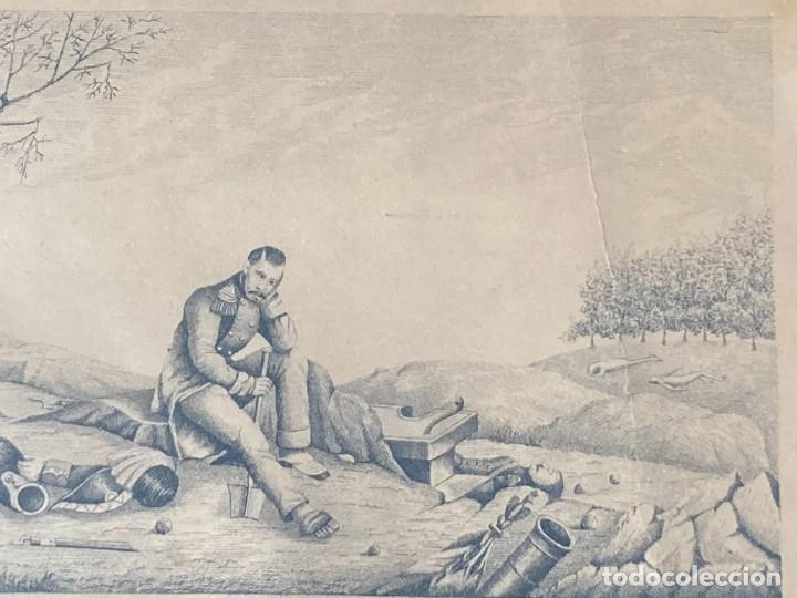 Arte: Aprest d`Waterloo. Al Escmo Sor Don José Mª Vasallo. Capitán Gral de Galicia, por José Portal 1857 - Foto 13 - 248491390