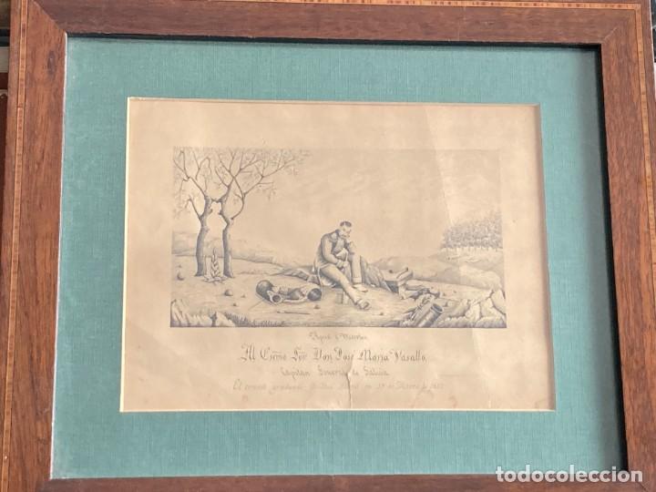 Arte: Aprest d`Waterloo. Al Escmo Sor Don José Mª Vasallo. Capitán Gral de Galicia, por José Portal 1857 - Foto 14 - 248491390