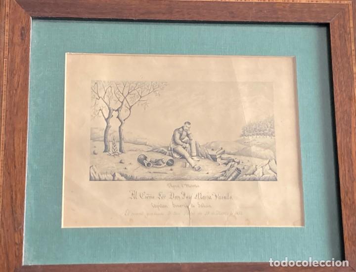 Arte: Aprest d`Waterloo. Al Escmo Sor Don José Mª Vasallo. Capitán Gral de Galicia, por José Portal 1857 - Foto 15 - 248491390