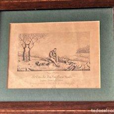 Arte: APREST D`WATERLOO. AL ESCMO SOR DON JOSÉ Mª VASALLO. CAPITÁN GRAL DE GALICIA, POR JOSÉ PORTAL 1857. Lote 248491390