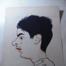 Arte: MAGNIFICO ANTIGUO DIBUJO COLOREADO EN ACUARELA,FIRMADO Y FECHADO. Lote 248603315