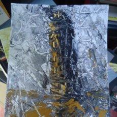 Arte: TORRE DE HÉRCUES POR EL CHANO MIDE 29,5 X 21CM. ART-BRUT ÓLEO SOBRE CARTULINA FIRMADO EL CHANO. Lote 248766190