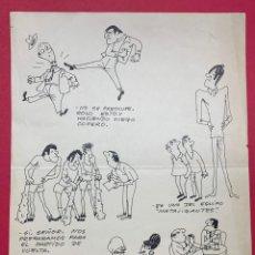 Arte: DIBUJO ORIGINAL DE MUNTAÑOLA PUBLICADO EN R.B (REVISTA BARCELONISTA). Lote 248794790