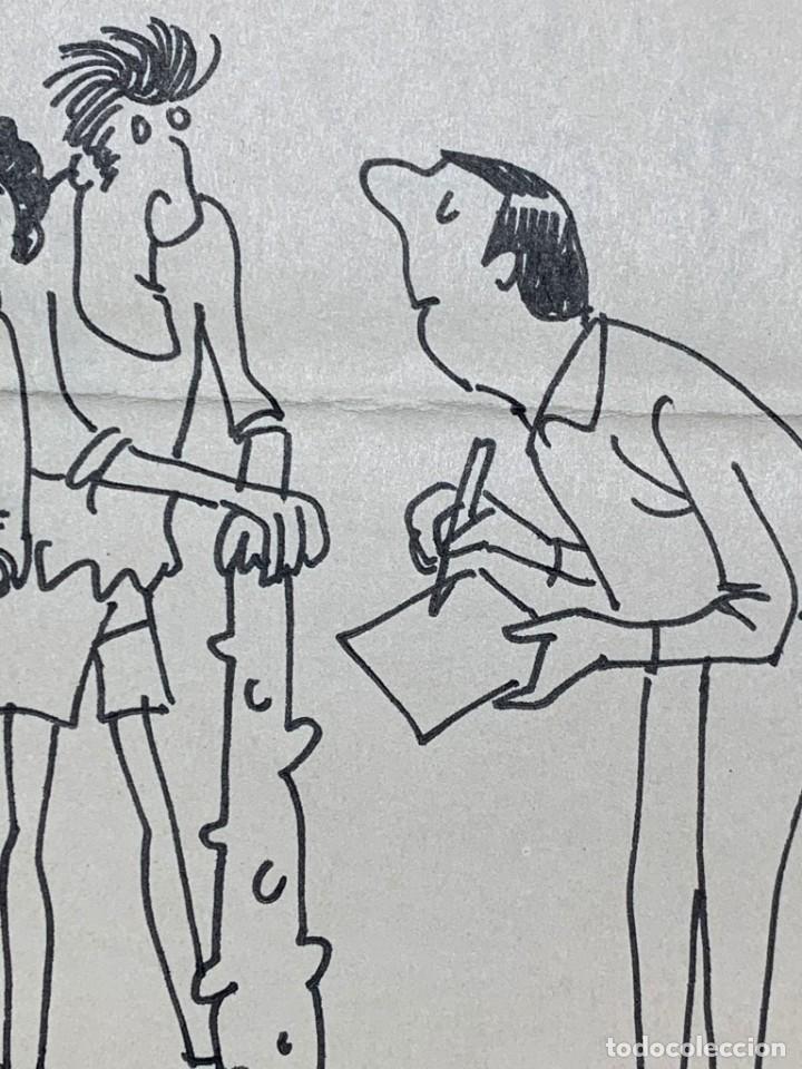 Arte: Dibujo original de Muntañola publicado en R.B (Revista Barcelonista) - Foto 3 - 248794790