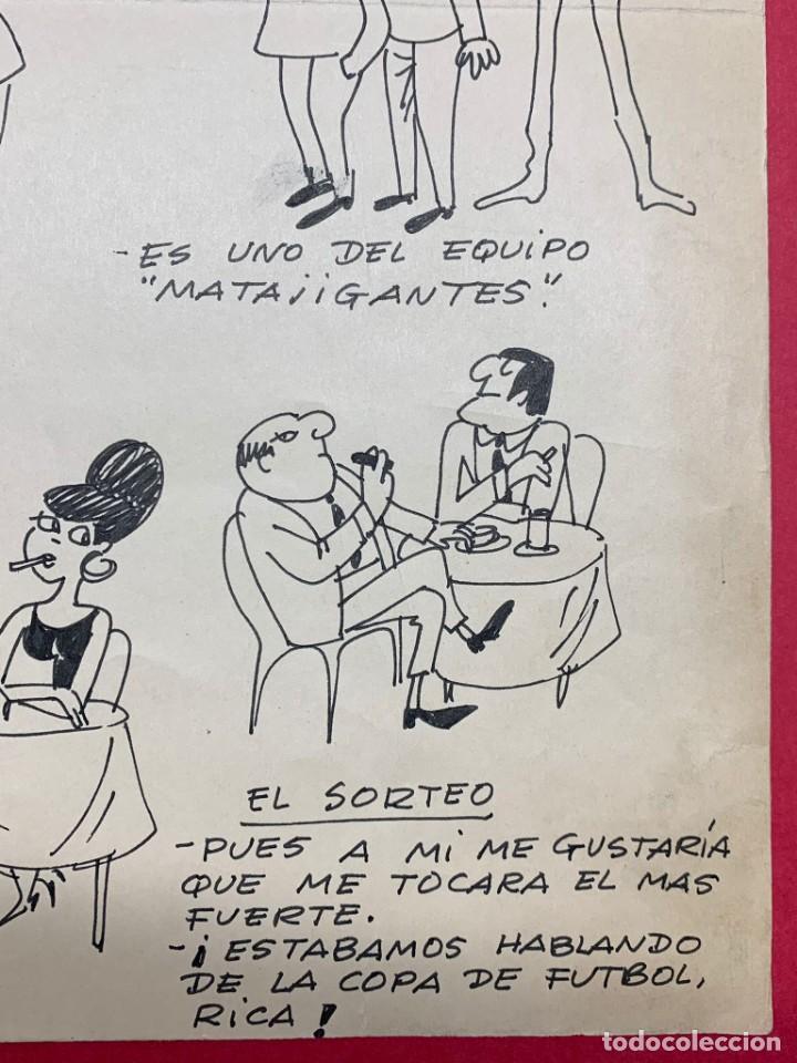 Arte: Dibujo original de Muntañola publicado en R.B (Revista Barcelonista) - Foto 4 - 248794790