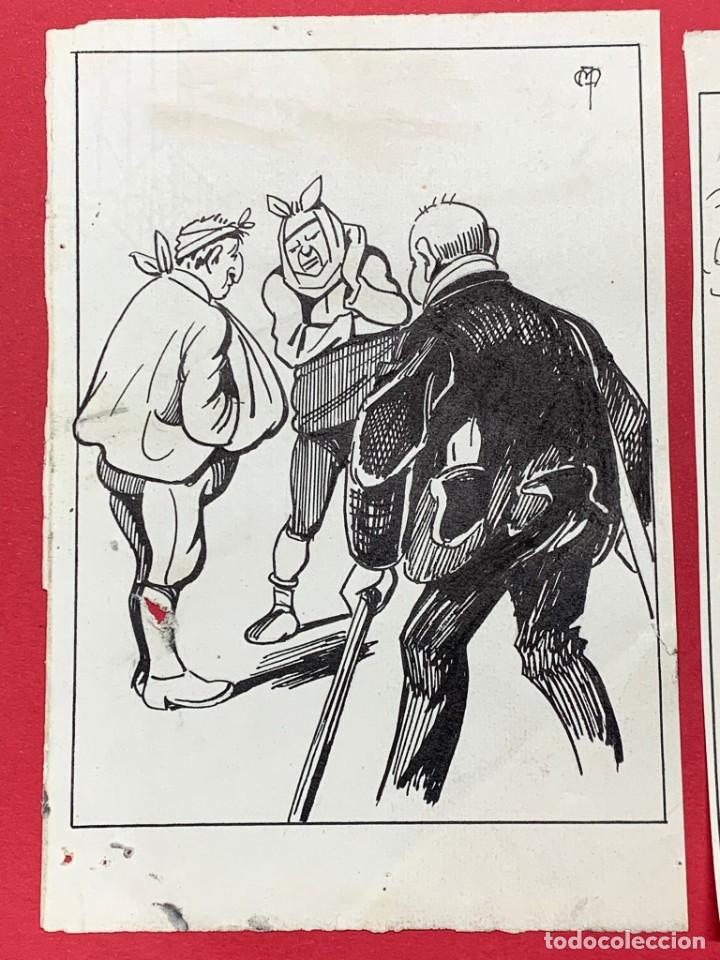 DIBUJO ORIGINAL DE APEL.LES MESTRES (Arte - Dibujos - Contemporáneos siglo XX)
