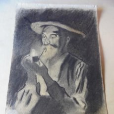 Arte: MAGNIFICO ANTIGUO DIBUJO FIRMADO Y FECHADO 1920. Lote 249285000